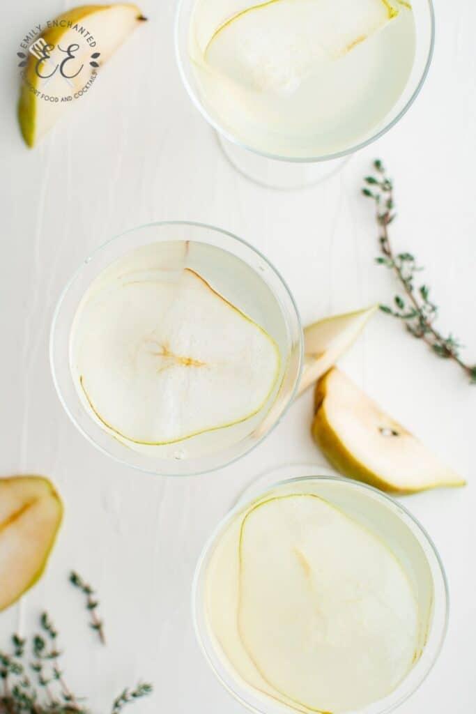 Pear Vodka Martini