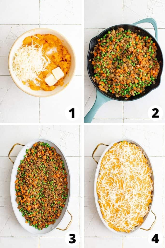 How to Make Shepherd's Pie with Sweet Potato